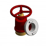 Download CAD files for Fire Mill Cock Valve Storz VIC