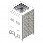 Download CAD files for Inverter Ducted System Outdoor Unit 18.0kW – 24.0kW