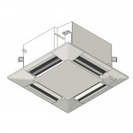 Download CAD files for Inverter Compact MF ceiling-mounted cassette type SMNX HeatPump 2.5kW – 6.0kW