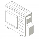 Download CAD files for Inverter Outdoor Units SMNX  Cooling  5.8kW – 10.0kW A
