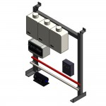 Download CAD files for TPI03 Wall or Floor Mounted