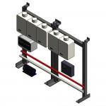 Download CAD files for TPI05 Wall or Floor Mounted
