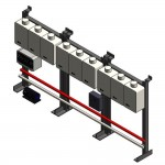 Download CAD files for TPI09 Wall or Floor Mounted