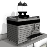 Download CAD files for Automatic Coffee Machine Type 1