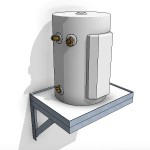 Download CAD files for Hot Water Storage Tank – 50L Wall Mounted