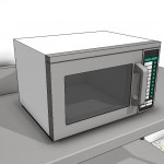 Download CAD files for Commercial Microwave Type 1