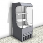 Download CAD files for Beverage Display Refrigerator – 580mm Wide