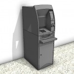 Download CAD files for Automatic Teller Machine Type 1