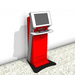 Download CAD files for Automatic Teller Machine Type 2