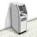 Download CAD files for Automatic Teller Machine Type 4
