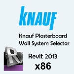 Download CAD files for Plasterboard Wall System Selector API, 2013, x86