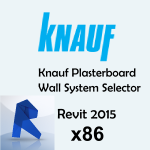 Download CAD files for Plasterboard Wall System Selector API, 2015, x86