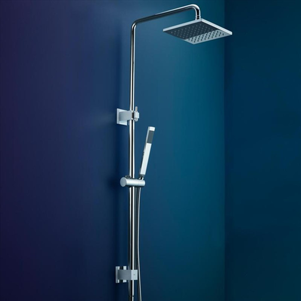 Gwa bathrooms and kitchens - Dorf Arc Rail Shower With Overhead Design Content