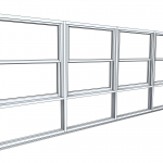 Download CAD files for Architectural Series 463 Double Hung Window