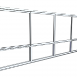 Download CAD files for Commercial Series 461 Sliding Window