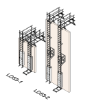 Download CAD files for Safety Access Ladder LD53