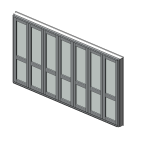 Download CAD files for Designer Series ThermalHEART Thermally Broken Bi-fold Door