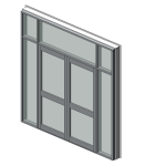 Download CAD files for Residential Series 549 Hinged Entry Door