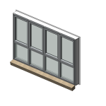Download CAD files for Designer Series 616 MAGNUM Awning/Casement/Fixed Window