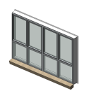 Download CAD files for Residential Series 517 Residential Awning/Casement/Fixed Window (102mm frame)