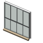 Download CAD files for Residential Series 504 Residential Sliding Window