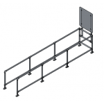 Download CAD files for Single Trolley Bay – Moddex Tuffstop