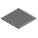 Download CAD files for Access Floor Panel 40%