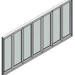 Download CAD files for Door BiFold Trend Quantum 102mm