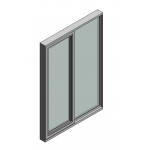 Download CAD files for Door Sliding Trend ThermAL