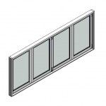 Download CAD files for Window BiFold Trend Quantum 102mm