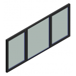 Download CAD files for Window Casement Trend ThermAL 55mm