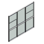 Download CAD files for Window Double Hung Trend Quantum Sashless 102mm