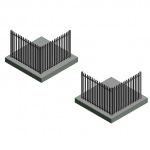 Download CAD files for Hercules Aluminium Securing Fence