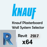 Download CAD files for Plasterboard Wall System Selector Add-In, 64-bit, for Revit versions 2013, 2014, 2015, 2016, 2017