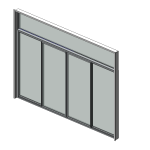 Download CAD files for Residential Series 542 Residential Stacking Sliding Door