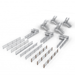 Download CAD files for CONECTABAL® – COMMERCIAL BALUSTRADE