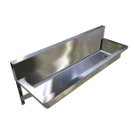 Download CAD files for PWD Wall Mounted Trough – TPWD