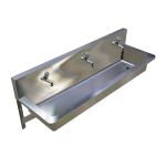 Download CAD files for Pre-Plumbed Hand Wash Trough – TPWDPH