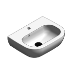 Download CAD files for Ceramic Hand Wash Basin – BSW-WB450