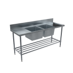 Download CAD files for BenchTech Double Sink Bench – DSB Centre Bowl