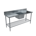 Download CAD files for BenchTech Single Sink Bench – SSB Centre Bowl