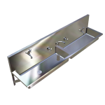 Download CAD files for Wall Mounted Clay & Ablution Trough – TCA