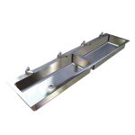 Download CAD files for Flat Rim Clay & Ablution Trough – TCAI