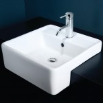Download CAD files for Caroma Carboni II Semi Recessed Vanity Basin
