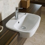 Download CAD files for Regent Semi Recessed Basin