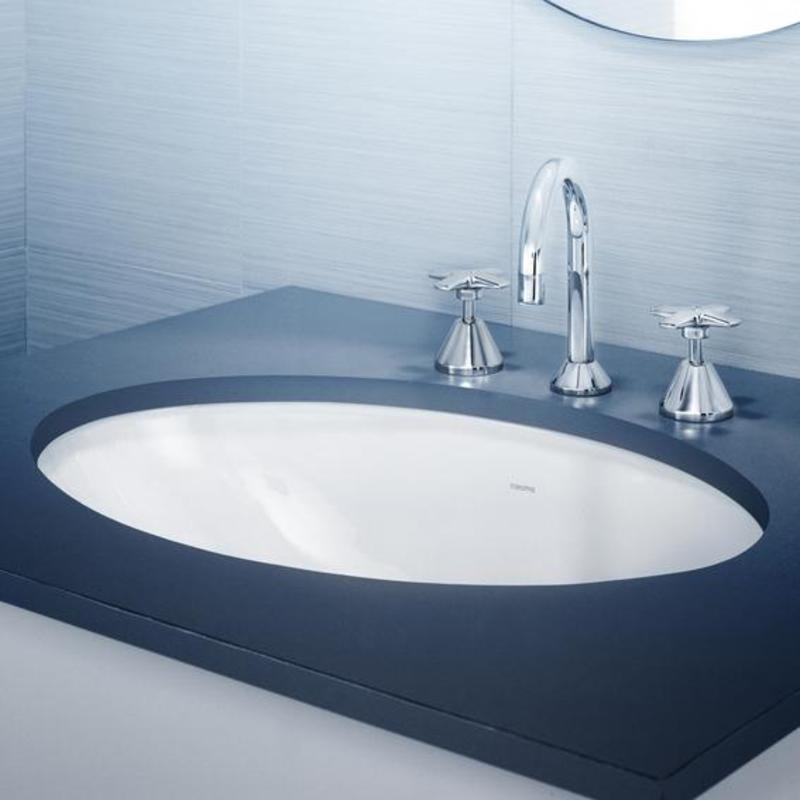 Caroma Caravelle 600 Under Counter Vanity Basin Design