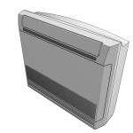 Download CAD files for Indoor Console Covertible Unit