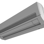 Download CAD files for Neo Forte Wall-mounted Unit (2.2-3.6kW)