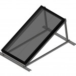 Download CAD files for Australis & Titan Series Single Solar Collector on Frame