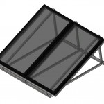 Download CAD files for Australis & Titan Series Double Solar Collector on Frame